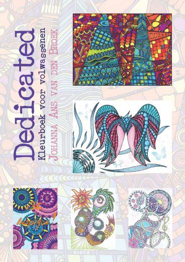 Dedicated - Kleurboek voor volwassenen